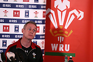 160317 Wales rugby press conference