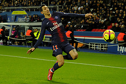 January 27, 2019 - Paris, Ile de France, France - Paris Saint Germain Midfield ANGEL DI MARIA Player of the match during the French championship League 1 Conforama match Paris Saint Germain against Rennes at the Parc des Princes Stadium in Paris - France..Paris SG won 4-1 (Credit Image: © Pierre Stevenin/ZUMA Wire)