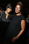 l to r: Jackie Reid and Harriett Cole at Rev. Al Sharpton's 55th Birthday Celebration and his Salute to Women on Distinction held at The Penthouse of the Soho Grand on October 6, 2009 in New York City