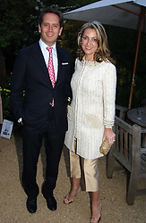 HUGH & BEATRICE WARRENDER at the annual Cartier Flower Show Diner held at The Physics Garden, Chelsea, London on 23rd May 2005.<br /><br />NON EXCLUSIVE - WORLD RIGHTS