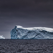 2019/07/11-Baffin Sea. Massive iceberg drifting South from Greenland West coast. According to the Danish Meteorological Institute, Greenland lost 19.7 billion tonnes of ice in July 2019 alone.