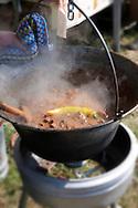 Beef Porkolt ( marhaporkolt). Paprika food festival, Kalocsa. Hungary