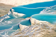 Photo & Image  of Pamukkale Travetine Terrace, Turkey. Picture of the white Calcium carbonate rock formations. Buy as stock photos or as photo art prints. 5 .<br /> <br /> If you prefer to buy from our ALAMY PHOTO LIBRARY  Collection visit : https://www.alamy.com/portfolio/paul-williams-funkystock/pamukkale-hierapolis-turkey.html<br /> <br /> Visit our TURKEY PHOTO COLLECTIONS for more photos to download or buy as wall art prints https://funkystock.photoshelter.com/gallery-collection/3f-Pictures-of-Turkey-Turkey-Photos-Images-Fotos/C0000U.hJWkZxAbg