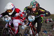 #194 (VILLEGAS Federico) ARG at the 2014 UCI BMX Supercross World Cup in Santiago Del Estero, Argentina.