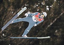 16.02.2020, Kulm, Bad Mitterndorf, AUT, FIS Ski Flug Weltcup, Kulm, Herren, im Bild Ziga Jelar (SLO) // Ziga Jelar of Slovenia during the men's FIS Ski Flying World Cup at the Kulm in Bad Mitterndorf, Austria on 2020/02/16. EXPA Pictures © 2020, PhotoCredit: EXPA/ JFK
