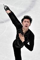 Boyan JIN CHN <br /> Men Short Program <br /> Milano 22/03/2018 Assago Forum <br /> Milano 2018 - ISU World Figure Skating Championships <br /> Foto Andrea Staccioli / Insidefoto