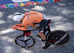 26.09.2018, Innsbruck, AUT, UCI Straßenrad WM 2018, Einzelzeitfahren, Elite, Herren, von Rattenberg nach Innsbruck (54,2 km), im Bild 2. Platz Tom Dumoulin (NED) // second place Tom Dumoulin of Netherlands during the men's individual time trial from Rattenberg to Innsbruck (54,2 km) of the UCI Road World Championships 2018. Innsbruck, Austria on 2018/09/26. EXPA Pictures © 2018, PhotoCredit: EXPA/ Reinhard Eisenbauer