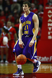 29 December 2011:  Matt Morrison during an NCAA mens basketball game between the Northern Illinois Panthers and the Illinois State Redbirds in Redbird Arena, Normal IL