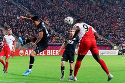 23-11-2019 NED: FC Utrecht - AZ Alkmaar, Utrecht<br /> Round 14 / Jean-Christophe Bahebeck #9 of FC Utrecht, Yukinari Sugawara #26 of AZ Alkmaar
