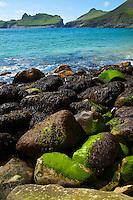 Village Bay. Isla St. Kilda. Outer Hebrides. Scotland, UK