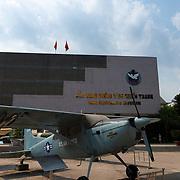 American plane in War remnants museum, Ho Chi Minh, Vietnam