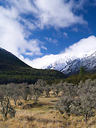 Libretto Range and Lewis Pass, Highway 7, Canterbury, New Zealand; June 2013