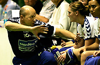 HÅNDBALL Eliteserien dame 18. september 2005 NORDSTRAND - GJERPEN<br /> Nordstrandtrener Sergej Demidov<br /> FOTO KURT PEDERSEN / DIGITALSPORT