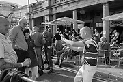 Skinhead reunion on seafront, Brighton 3 June 2017