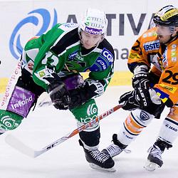 20110128: SLO, AUT, Ice Hockey - EBEL League, 43rd Round