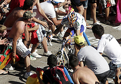 29.08.2011, Andalusien, ESP, LA VUELTA 2011, Stage 17, im Bild Bauke Mollema during the stage of La Vuelta 2011 between Faustino V and Pena Cabarga.September 7,2011. EXPA Pictures © 2011, PhotoCredit: EXPA/ Alterphoto/ Paola Otero +++++ ATTENTION - OUT OF SPAIN/(ESP) +++++