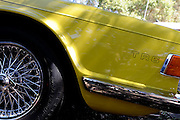 1969/1976 Triumph TR6 (Mimosa Yellow). 2011 Classic Car Show, Whiteman Park, Perth, Western Australia. March 20, 2011