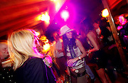 Italy, Madonna di Campiglio, nightlife at the desalpes pianobar