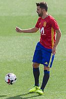 David Villa during the training of the spanish national football team in the city of football of Las Rozas in Madrid, Spain. August 28, 2017. (ALTERPHOTOS/Rodrigo Jimenez)