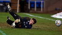 Photo: Daniel Hambury.<br />Reading v West Bromwich Albion. The FA Cup. 17/01/2006.<br />West Brom's Tomasz Kuszczak pictured here during the warm up, starts the game on the bench.