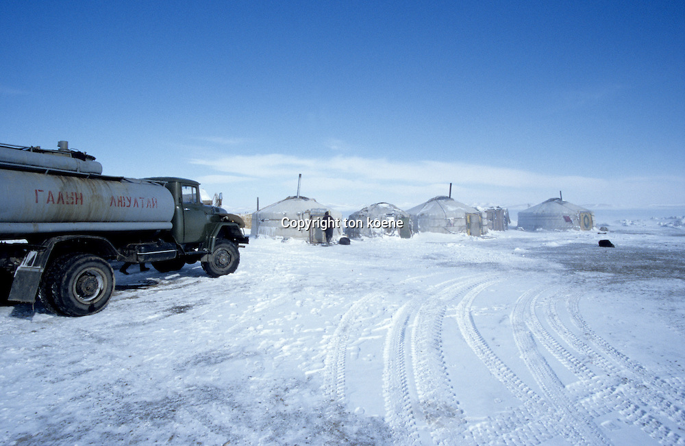 transport in mongolia