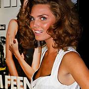 NLD/Amsterdam/20100622 - Onthulling 100ste FHM cover met Kim Feenstra,