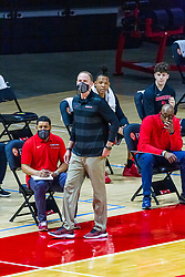 NORMAL, IL - February 27: Dan Muller during a college basketball game between the ISU Redbirds and the Northern Iowa Panthers on February 27 2021 at Redbird Arena in Normal, IL. (Photo by Alan Look)