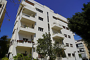 Bauhaus Architecture Designed in 1934 by Engineer Baruch Friedman at 5 Nafha Str, Tel Aviv White City. The White City refers to a collection of over 4,000 buildings built in the Bauhaus or International Style in Tel Aviv from the 1930s by German Jewish architects who emigrated to the British Mandate of Palestine after the rise of the Nazis. Tel Aviv has the largest number of buildings in the Bauhaus/International Style of any city in the world. Preservation, documentation, and exhibitions have brought attention to Tel Aviv's collection of 1930s architecture.