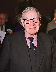 PREB.DR.CHAD VARAH founder of The Samaritans, at a reception in London on 20th April 1999.MRF 26 MOLO