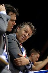 06-09-2006 BASKETBAL: NEDERLAND - SLOWAKIJE: GRONINGEN<br /> De basketballers hebben ook de tweede wedstrijd in de kwalificatiereeks voor het Europees kampioenschap in winst omgezet. In Groningen werd een overwinning geboekt op Slowakije: 71-63 / Cees van Rootselaar<br /> ©2006-WWW.FOTOHOOGENDOORN.NL