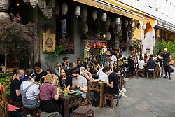 Umami Asian restaurant on Bergmannstrasse in Kreuzberg Berlin Germany