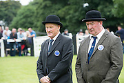 Sean King  and Val Noone judging at the 93rd annual Connemara Pony show in Clifden Co. Galway  Photo:Andrew Downes, XPOSURE