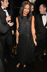 SARAH-JANE CRAWFORD at the Warner Music Group & Belvedere BRIT Awards After Party held at The Savoy, London on 19th February 2014.