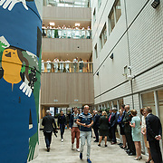 NLD/Utrecht/20190619 - Maxima heropent Centraal Militair Hospitaal, de Hal van het ziekenhuis
