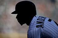 CHICAGO - APRIL 06:  Tim Anderson #7 of the Chicago White Sox looks on against the Seattle Mariners on April 6, 2019 at Guaranteed Rate Field in Chicago, Illinois.  (Photo by Ron Vesely)  Subject:  Tim Anderson