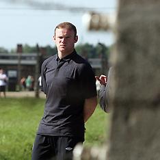 England Euro 2012 visit to Auschvitz 8-6-12