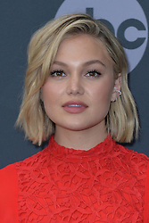May 14, 2019 - New York, NY, USA - May 14, 2019  New York City..Olivia Holt attending Walt Disney Television Upfront presentation party arrivals at Tavern on the Green on May 14, 2019 in New York City. (Credit Image: © Kristin Callahan/Ace Pictures via ZUMA Press)