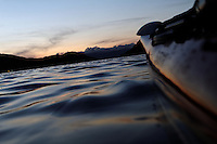 Summer night kayaking - Sildegapet - sommernatt