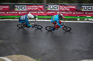 #623 (BARRY Todd) NZL at Round 6 of the 2018 UCI BMX Superscross World Cup in Zolder, Belgium