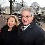 NLD/Amsterdam/20080404 - Premiere Porgy and Bess, Ed van Thijn en partner Odette Taminau