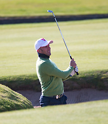 Alessandro Del Piero. Players art the 18th, Alfred Dunhill Links Championship at the Championship Course at Carnoustie.