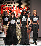 LFW a/w 2015: Fashion For Relief - Catwalk Show & Fundraiser