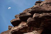 Detail of the strange, wind eroded rock surface of Mount Roraima, Venezuela