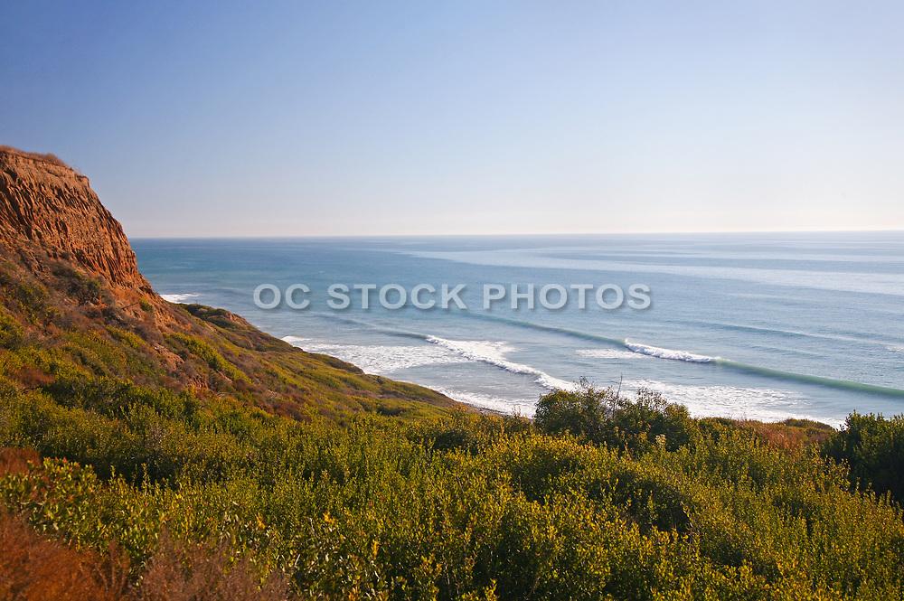 Pacific Ocean View From the Bluffs Beach Trail