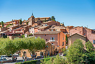 Roussillon, in the Luberon region of Provence, France.