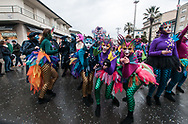 Young masks of a choreography, Carnival is an adventitious job for many people of all ages