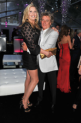 ROD STEWART and PENNY LANCASTER at the Glamour Women of The Year Awards 2011 held in Berkeley Square, London W1 on 7th June 2011.