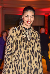 Caroline Issa at the Mary Quant VIP Preview at The Victoria & Albert Museum, London, England. 03 April 2019. <br /> <br /> ***For fees please contact us prior to publication***