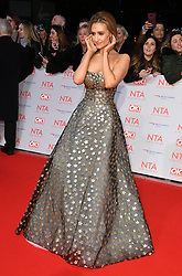 Catherine Tyldesley attending the National Television Awards 2018 held at the O2, London. Photo credit should read: Doug Peters/EMPICS Entertainment