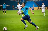 ST PETERSBURG, RUSSIA - OCTOBER 19, 2017. UEFA Europa League group stage: Zenit St Petersburg (Russia) 3 – 1 Rosenborg BK (Norway). Zenit St Petersburg's Sebastian Driussi.